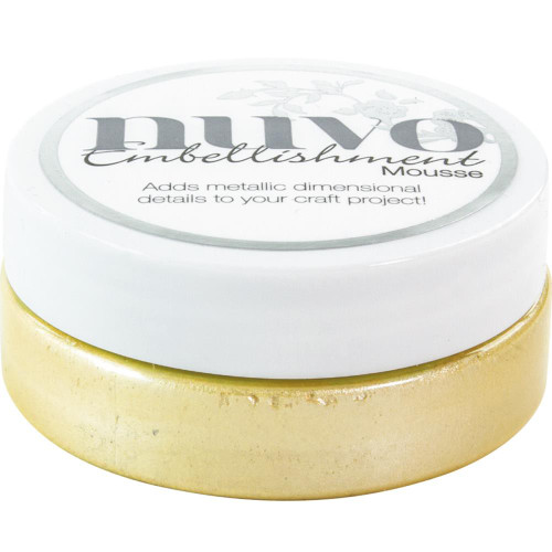 Nuvo Embellishment Mousse: Lemon Sorbet