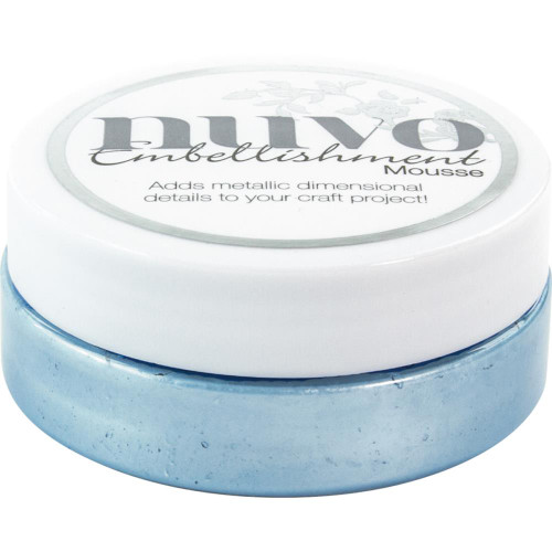 Nuvo Embellishment Mousse: Cornflower Blue