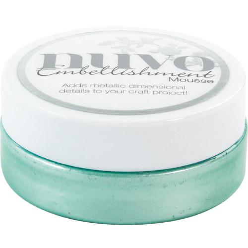 Tonic Studios Nuvo Embellishment Mousse: Aquamarine