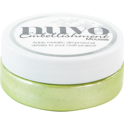 Nuvo Embellishment Mousse: Spring Green
