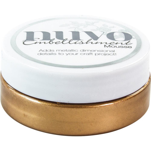 Nuvo Embellishment Mousse: Cosmic Brown