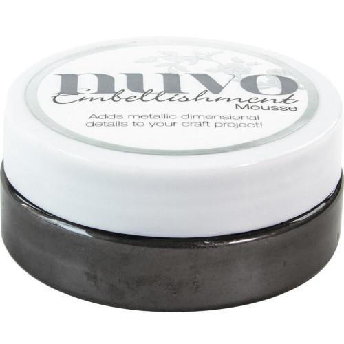 Tonic Studios Nuvo Embellishment Mousse: Black Ash