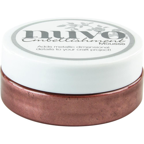 Nuvo Embellishment Mousse: Burnished Bronze