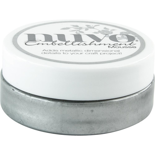 Nuvo Embellishment Mousse: Gunmetal Grey