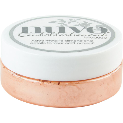 Nuvo Embellishment Mousse: Coral Calypso