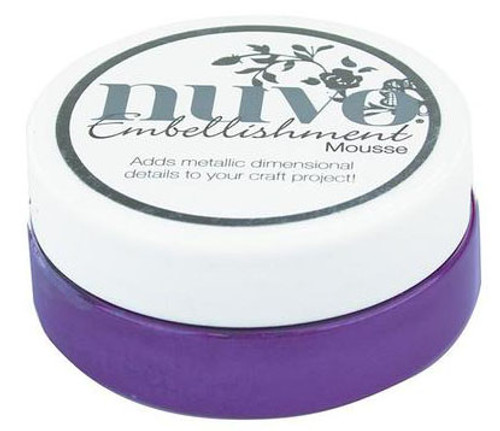 Nuvo Embellishment Mousse: Royal Aubergine