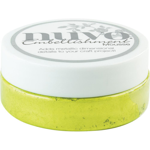 Tonic Studios Nuvo Embellishment Mousse: Citrus Green