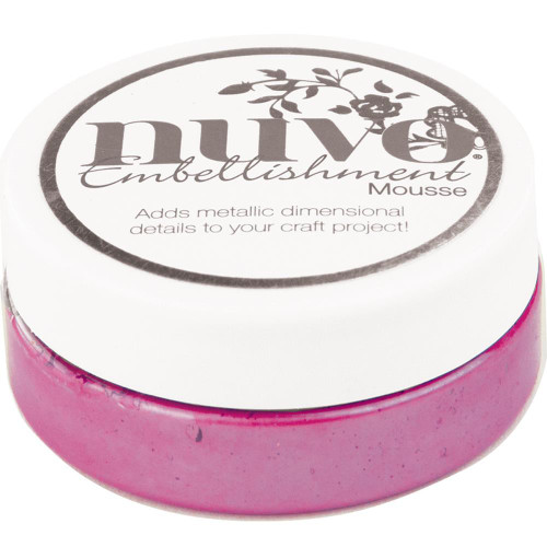 Tonic Studios Nuvo Embellishment Mousse: English Heather