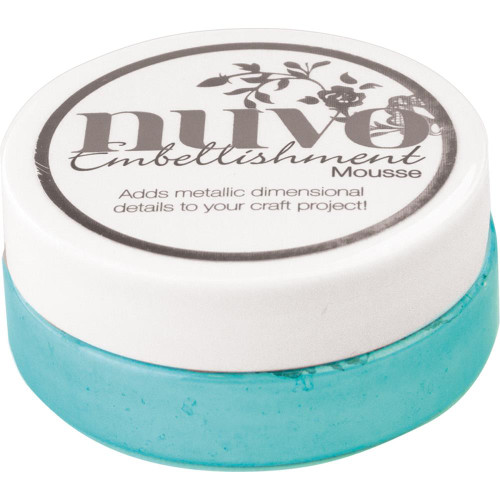 Nuvo Embellishment Mousse: Coastal Surf
