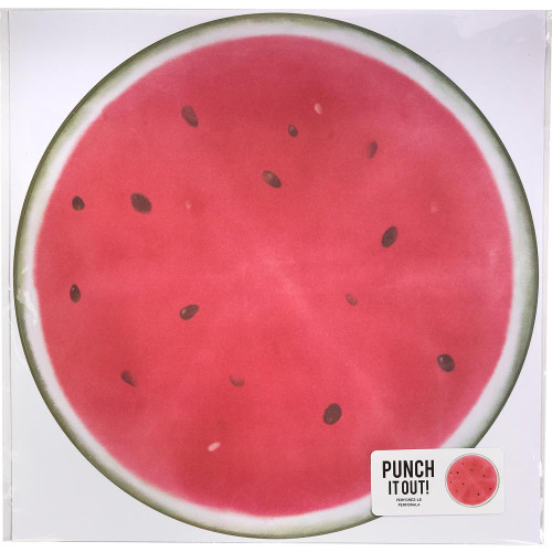 American Crafts 12x12 Punch It Out! Diecut Paper: Watermelon