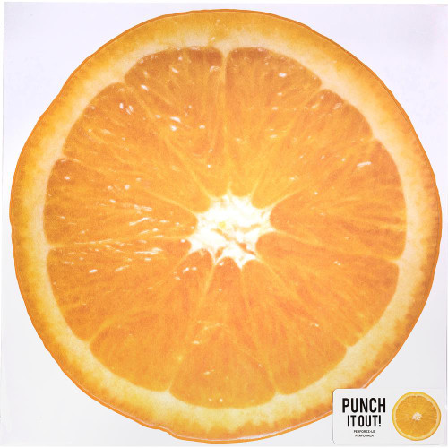American Crafts 12x12 Punch It Out! Diecut Paper: Orange Slice