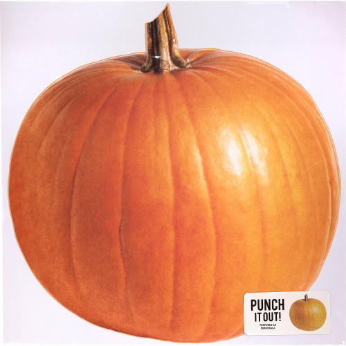 American Crafts 12x12 Punch It Out! Diecut Paper: Pumpkin