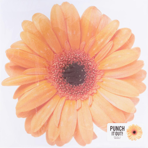 American Crafts 12x12 Punch It Out! Diecut Paper: Gerber Daisy