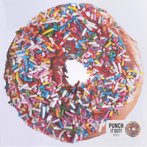 American Crafts 12x12 Punch It Out! Diecut Paper: Donut