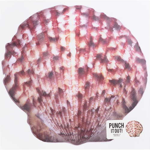 American Crafts 12x12 Punch It Out! Diecut Paper: Shell