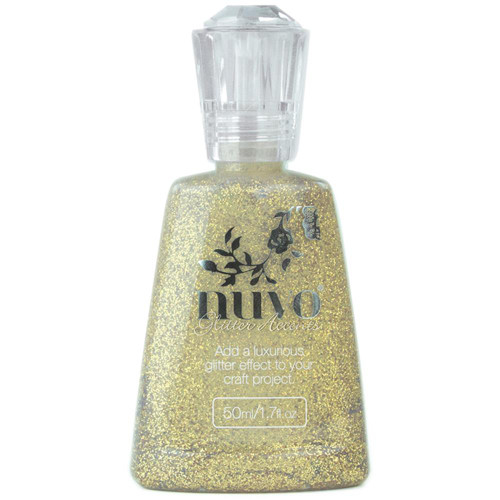 Nuvo Glitter Accents: Aztec Gold