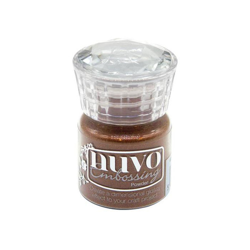 Nuvo Embossing Powder: Copper Blush