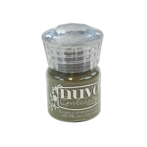 Nuvo Embossing Powder: Classic Gold