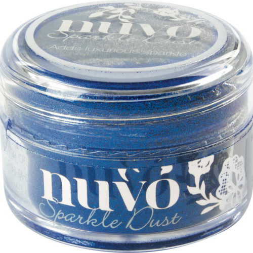 Tonic Studios Nuvo Sparkle Dust: Electric Blue