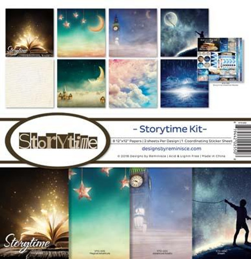 Reminisce 12x12 Collection Pack: Storytime