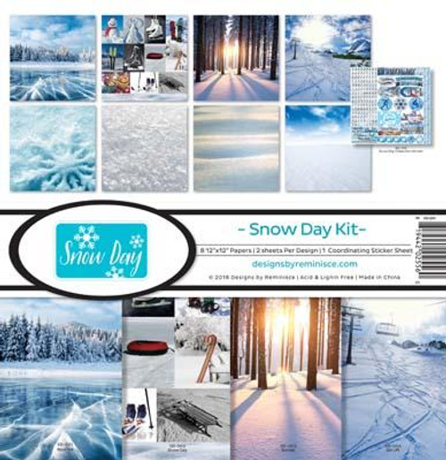 Reminisce 12x12 Collection Pack: Snow Day