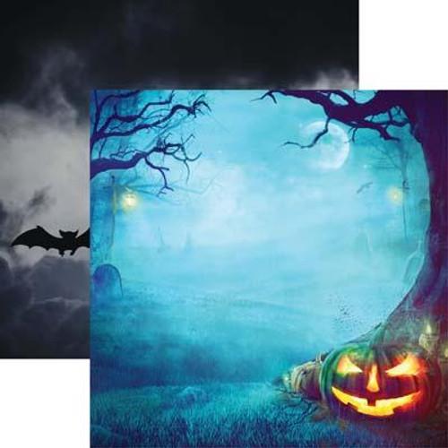 Reminisce Pumpkin Hallow 12x12 Paper: Night of the Pumpkin
