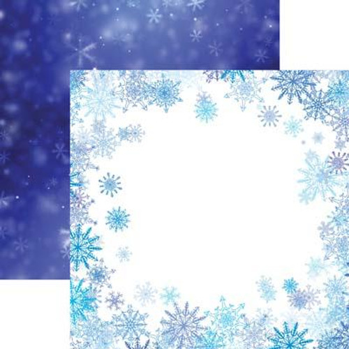 Reminisce Jack Frost 12x12 Paper: Frosted