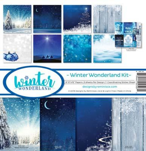 Reminisce 12x12 Collection Pack: Winter Wonderland