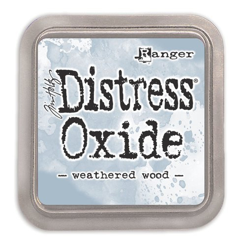 Distress Oxide Ink Pad: Weathered Wood