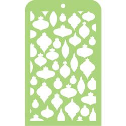"Kaisercraft Mini Designer Templates 3.5""X5.75"" - Baubles"