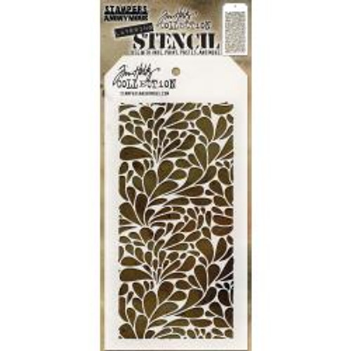 Tim Holtz Layering Stencil: Splash