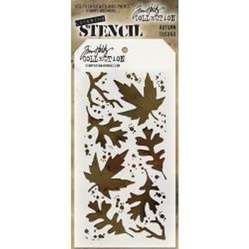 Tim Holtz Layering Stencil: Autumn
