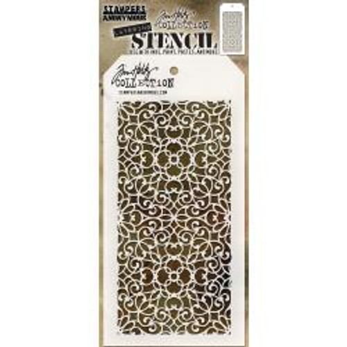 Tim Holtz Layering Stencil: Ornate