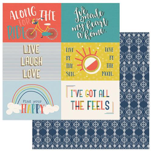 PhotoPlay Free Bird 12x12 Paper: 4x6 Cutapart Cards