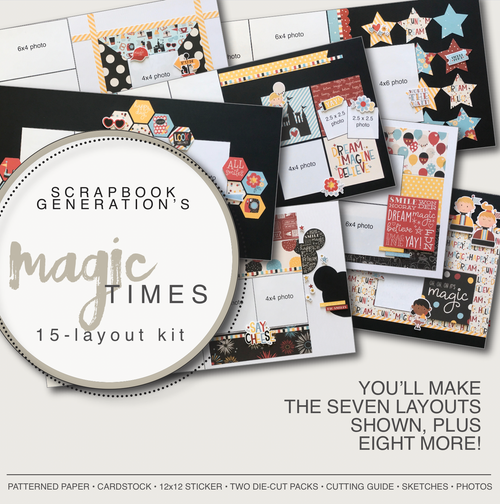 SG: Magic Times - 15 Layout Kit