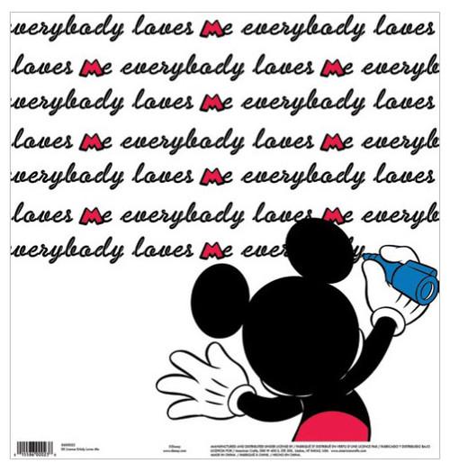 EK Success Disney 12x12 Paper: Everybody Love Me