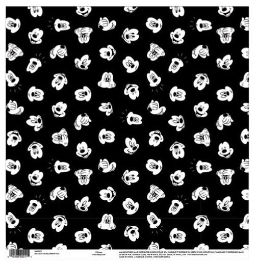 EK Success Disney 12x12 Paper: Mickey Faces