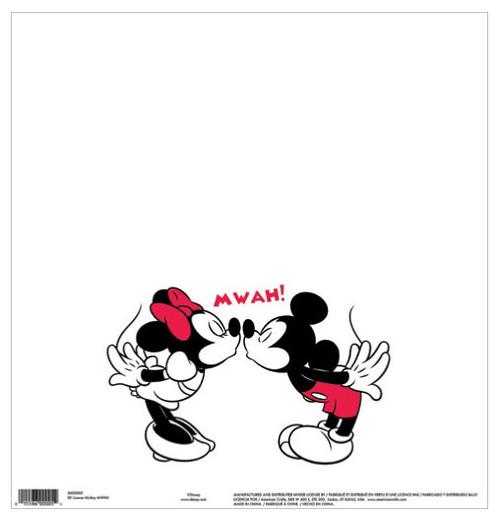 EK Success Disney 12x12 Paper: Mickey MWAH
