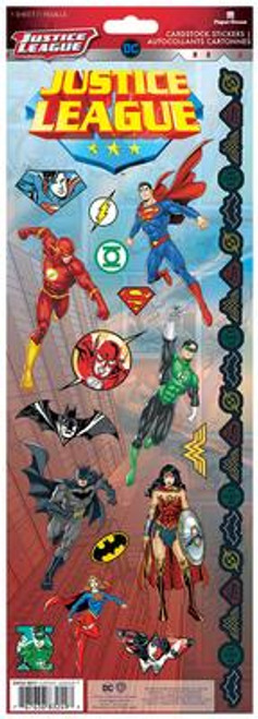 Paper House Productions Cardstock Stickers: Justice League