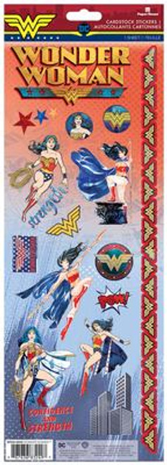 Paper House Productions Cardstock Stickers: Wonder Woman