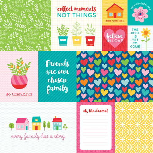 Bella Blvd Home Sweet Home 12x12 Paper: Daily Details