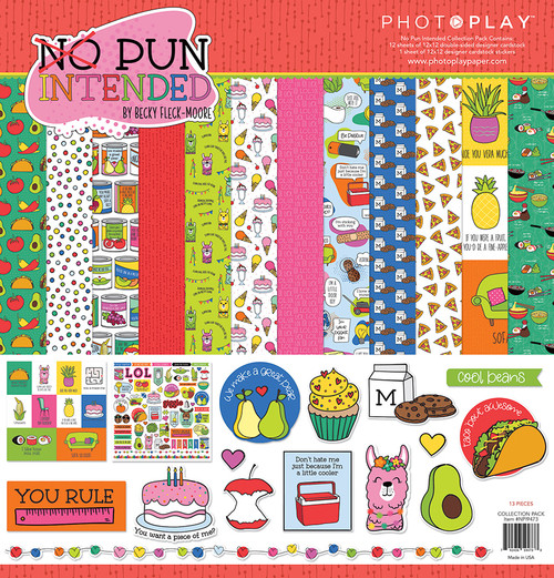 PhotoPlay No Pun Intended 12x12 Collection Pack