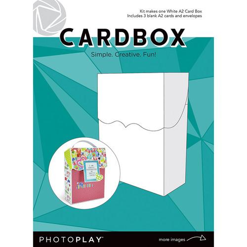 PhotoPlay Maker's Series Creation Bases | Cardbox (White)