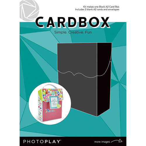 PhotoPlay Maker's Series Creation Bases | Cardbox (Black)