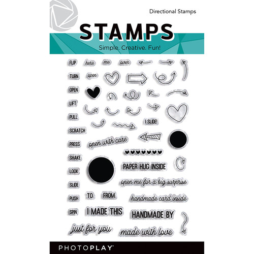 PhotoPlay Maker's Series Stamps | Directional
