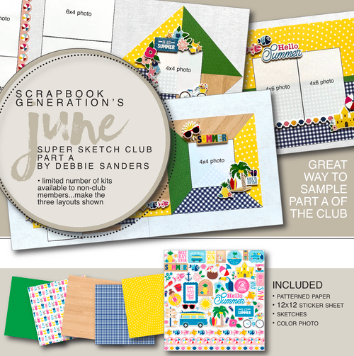 "2019 June SSC Part ""A"" - 3 Layout Kit"