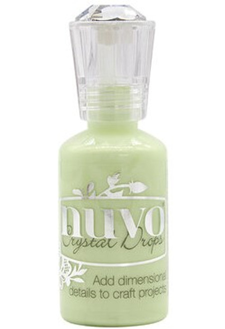 Nuvo Crystal Drops: Soft Mint (Metallic)