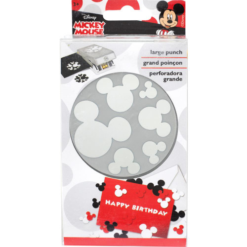 EK Success Disney Edger Punch: Mickey Confetti