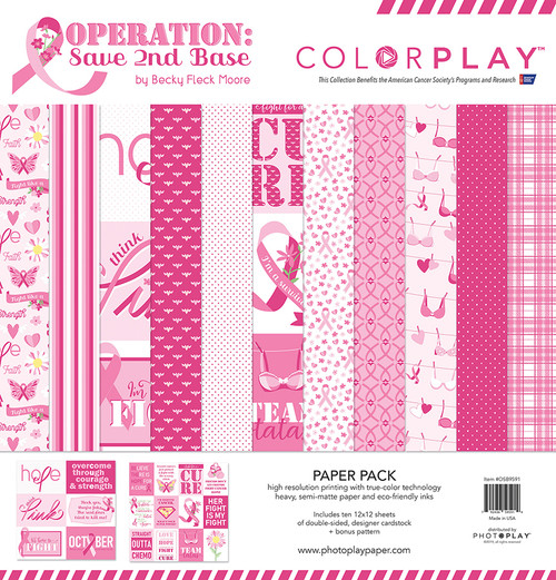 ColorPlay Operation Save 2nd Base Paper Pack