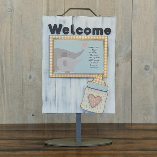 Foundations Decor: Welcome Sign Add-On - Baby